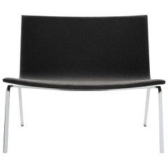 Extra Large Black Accent Chair by Pietro Arosio