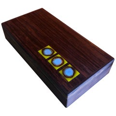 Extra Large Bodil Eje Danish Rosewood Box / Humidor by Alfred Klitgaard