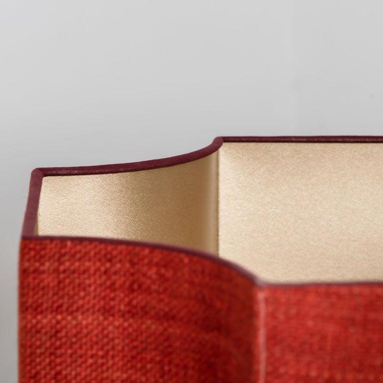 Extra Large Ceramic Floor Lamp with New Silk Custom Made Lampshade René Houben 5