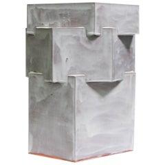 Extra Large Contemporary Ceramic Glazed Terracotta Hexagon Planter