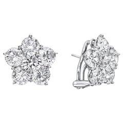 "Extra Large Diamond ""Astra"" Earrings '8.46 Carat'"