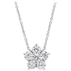 "Extra Large Diamond ""Astra"" Pendant '4.25 Carat'"