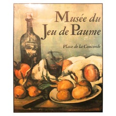 Extra Large Framed French Musee du Jeu de Paume Poster