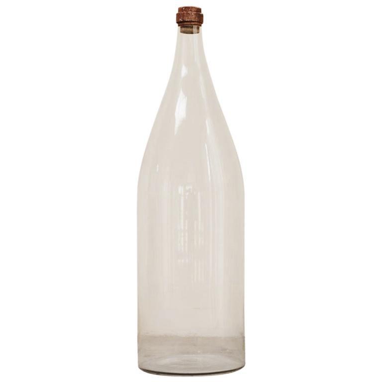 Extra Large Glass Bottle