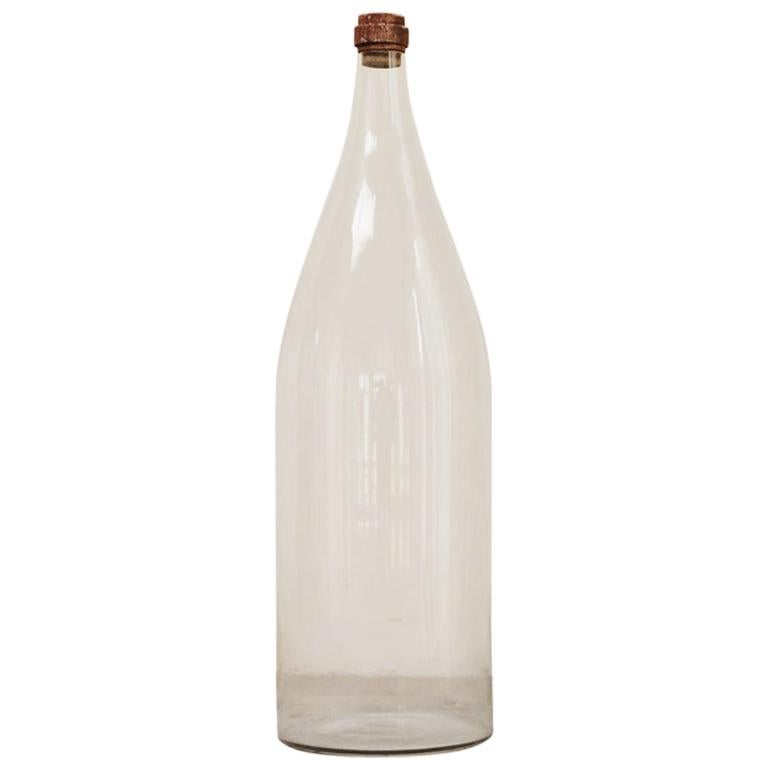 Extra Large Glass Bottle For Sale