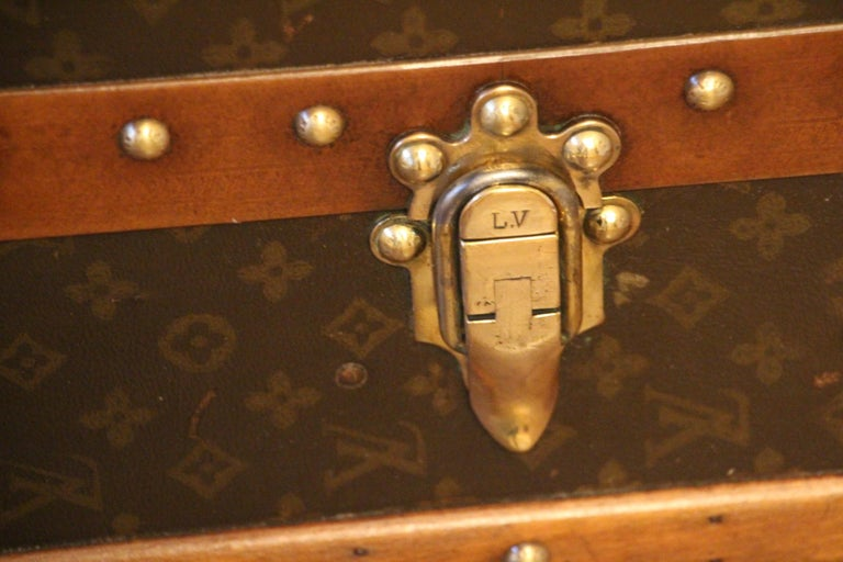 Extra Large Louis Vuitton Wardrobe Steamer Trunk, Louis Vuitton Trunk For Sale 4