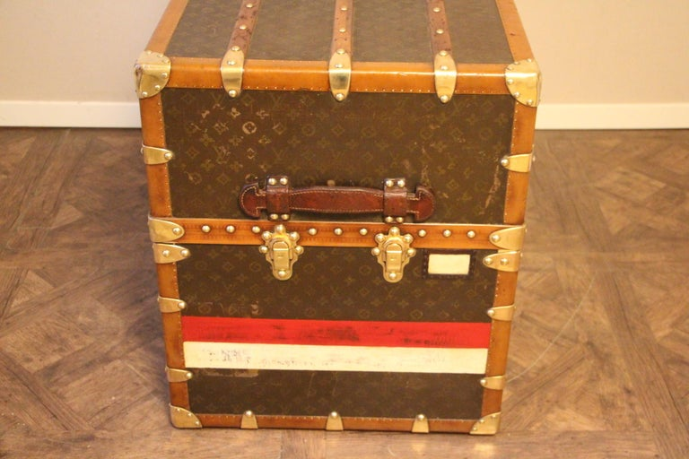 Extra Large Louis Vuitton Wardrobe Steamer Trunk, Louis Vuitton Trunk For Sale 5