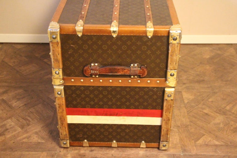 Extra Large Louis Vuitton Wardrobe Steamer Trunk, Louis Vuitton Trunk For Sale 7