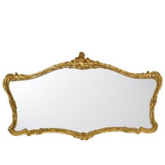 Extra Large Mirror with Gold Leaf