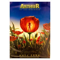 "Extra Large Original French Movie Poster of ""Arthur et les Minimoys"", 2006"