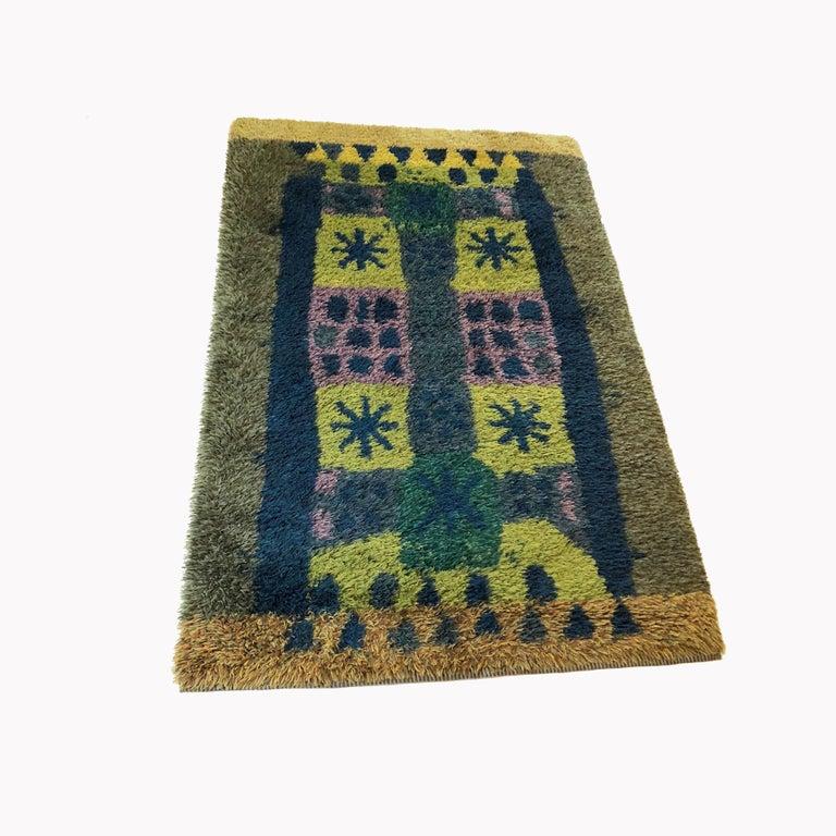 Article:  Original huge 1970s Rya rug