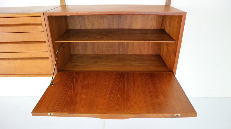 Extra Large Poul Cadovius for Royal System Wall System or Shelving Unit, 1950s 3