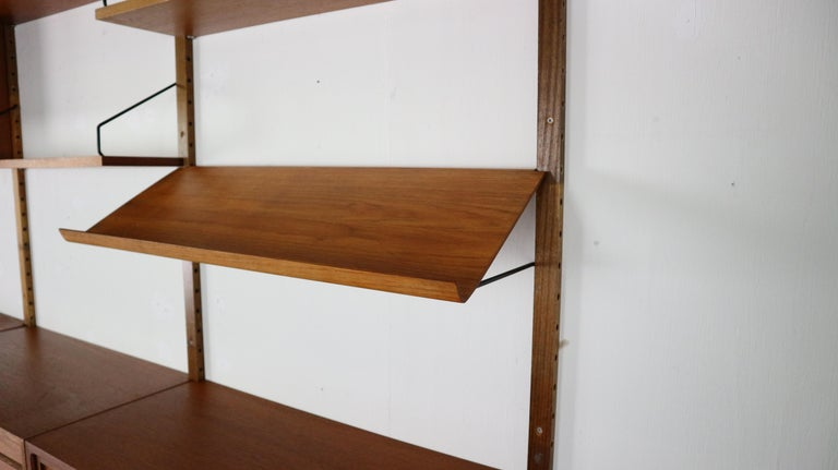 Extra Large Poul Cadovius for Royal System Wall System or Shelving Unit, 1950s 5