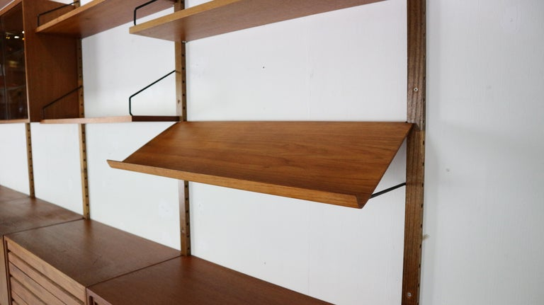 Extra Large Poul Cadovius for Royal System Wall System or Shelving Unit, 1950s 6