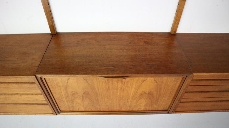 Extra Large Poul Cadovius for Royal System Wall System or Shelving Unit, 1950s 11
