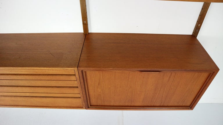 Extra Large Poul Cadovius for Royal System Wall System or Shelving Unit, 1950s 12