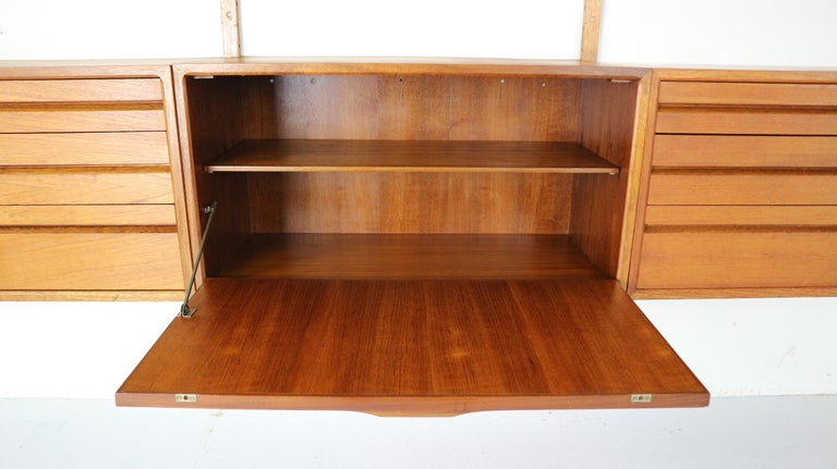Extra Large Poul Cadovius for Royal System Wall System or Shelving Unit, 1950s 1