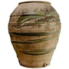 Extra Large Spanish Terracotta Olive Oil Jar