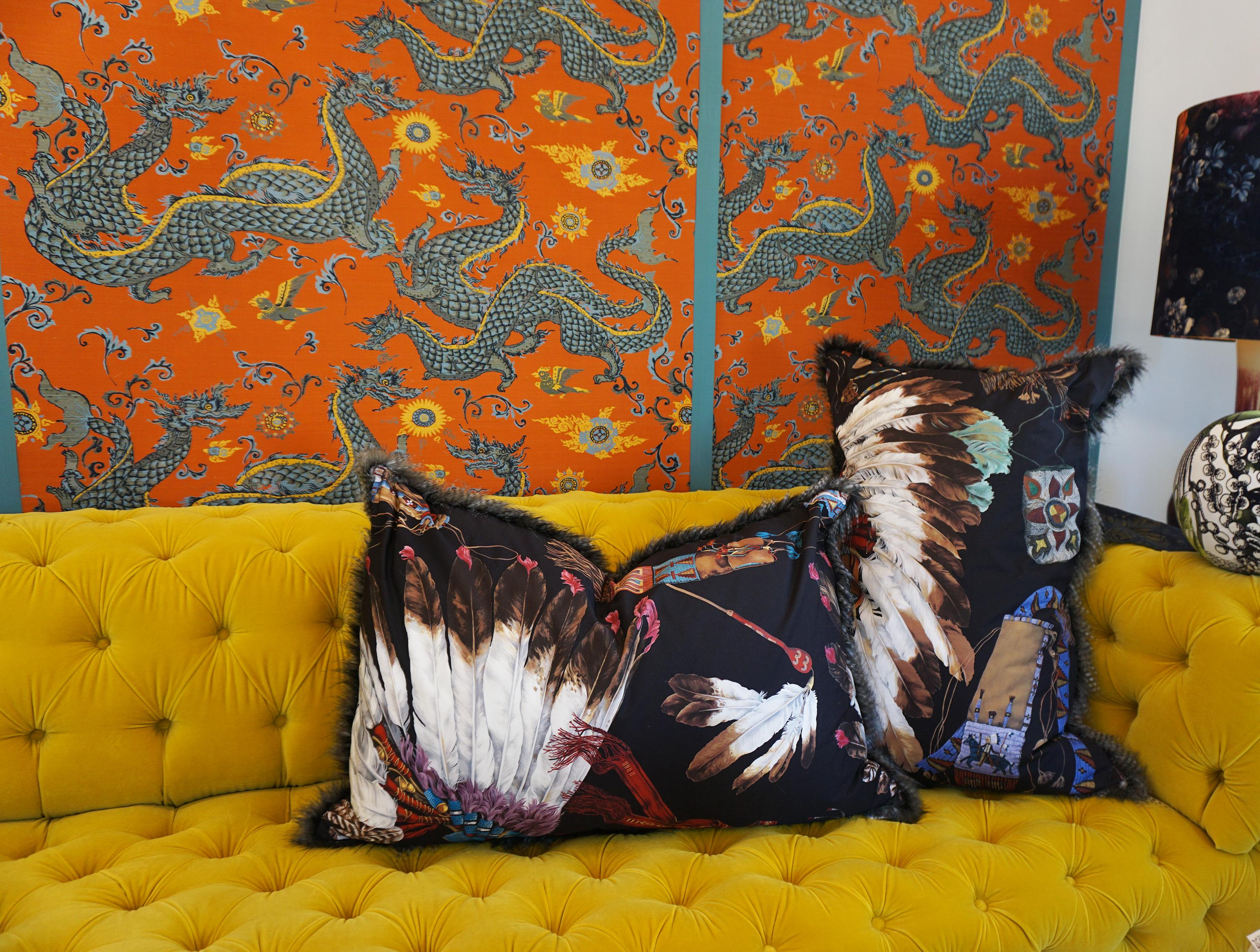 Extra Large Throw Pillows with Native