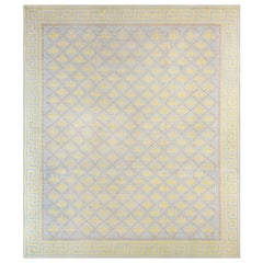 Extra Large Vintage Indian Dhurrie Carpet