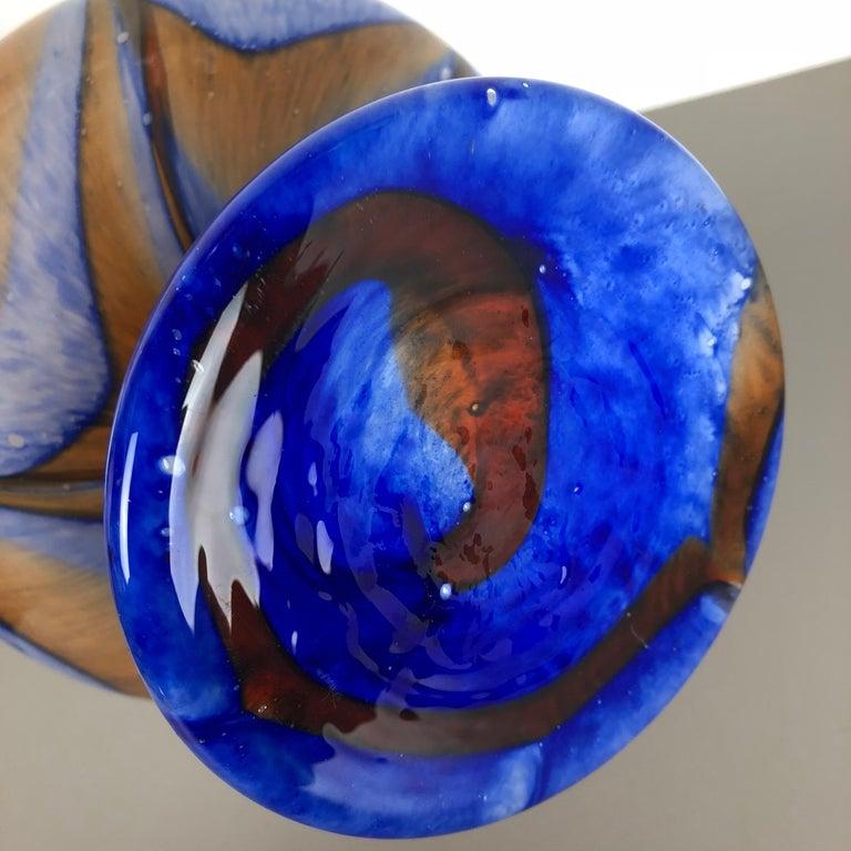 Extragroße Vintage Pop Art Opaline Florence Vase Design von Carlo Moretti, Italien 9