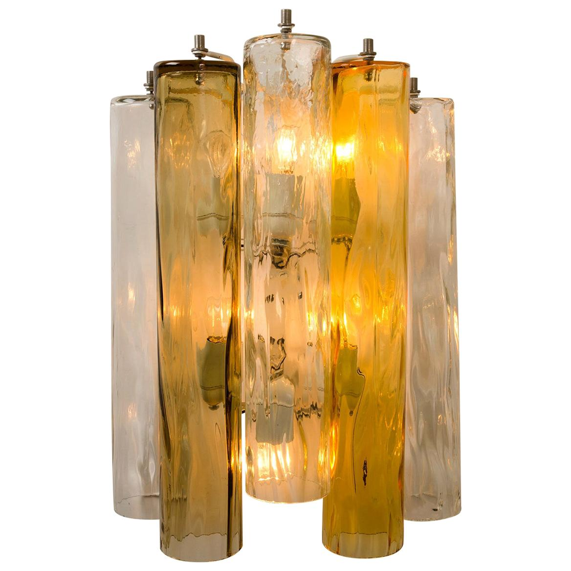 A pair of XL Wall Sconces/Wall Lights Murano Glass, Barovier & Toso