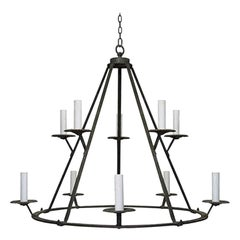Extra Large Wrought Iron Chandelier