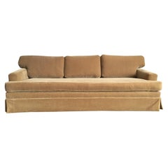 Extra-Long Classic Mohair Sofa