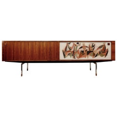 Extra Long Sideboard by Alfred Hendrickx for Belform, 1956