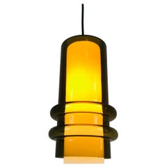 Extraordinarry Glass Pendant Lamp by Tapio Wirkkala, 1960s