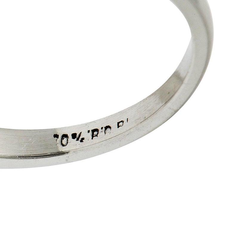1.82 Carat Jubilee Cut Diamond Platinum Engagement Ring GIA 3