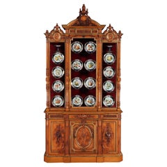 Extraordinary 19th Century Carved Cabinet by Maison Guéret of Paris