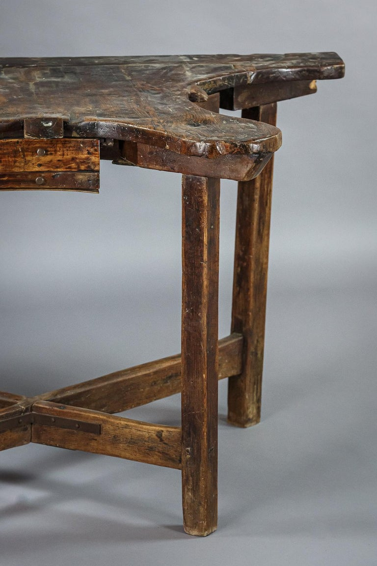 Extraordinary 19th Century Jewelers Work Table For Sale 9