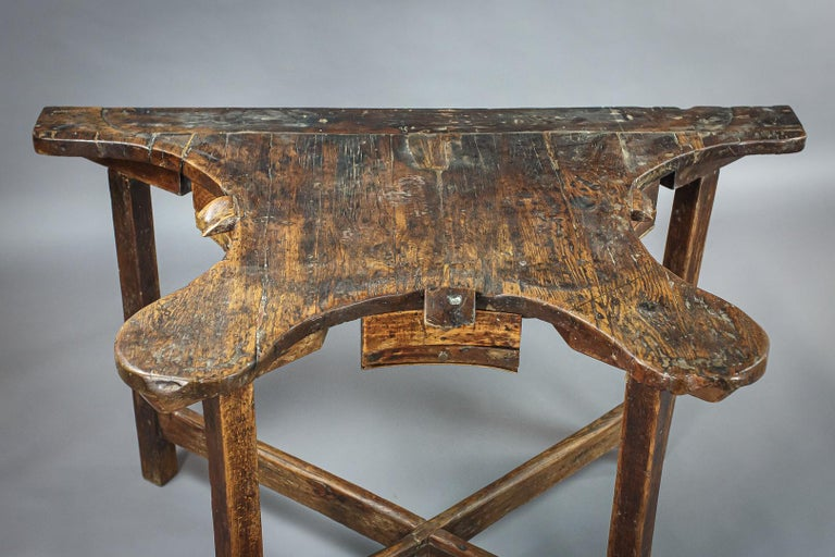 Extraordinary 19th Century Jewelers Work Table For Sale 4