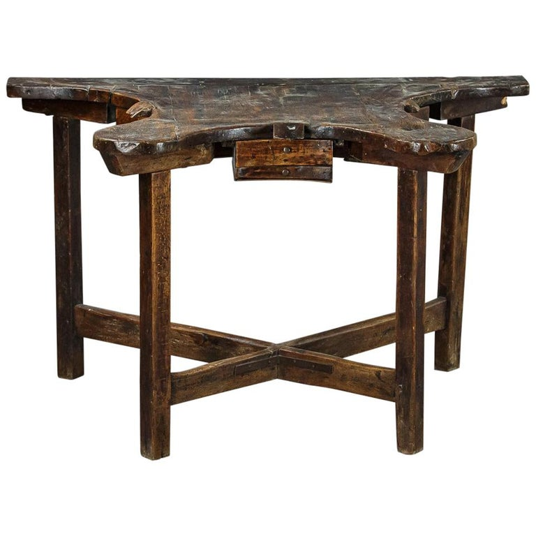 Extraordinary 19th Century Jewelers Work Table For Sale