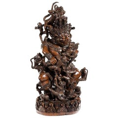 Extraordinary Carved 19th Century Sculpture