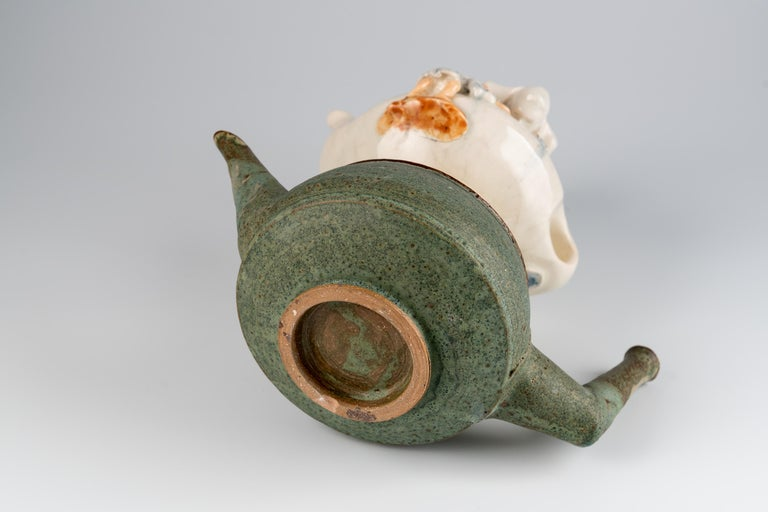 Extraordinary Ceramic Sculpture by Israel Sofia For Sale 7