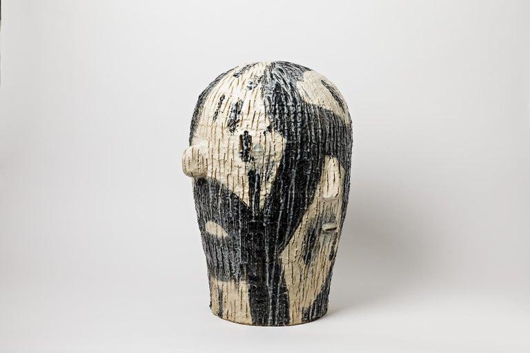 Beaux Arts Extraordinary Ceramic Sculpture by Laurent Dufour, 2017 For Sale
