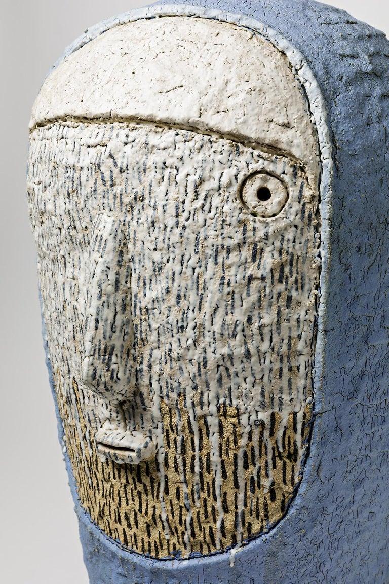Beaux Arts Extraordinary Ceramic Sculpture by Laurent Dufour, 2017