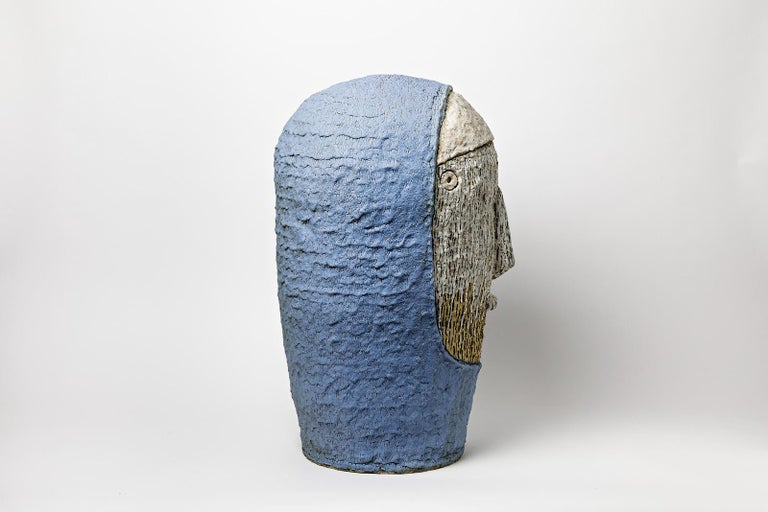 French Extraordinary Ceramic Sculpture by Laurent Dufour, 2017