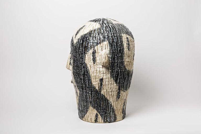 Extraordinary Ceramic Sculpture by Laurent Dufour, 2017 For Sale 1