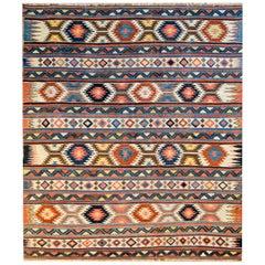 Extraordinary Early 20th Century Shirvan Kilim Rug