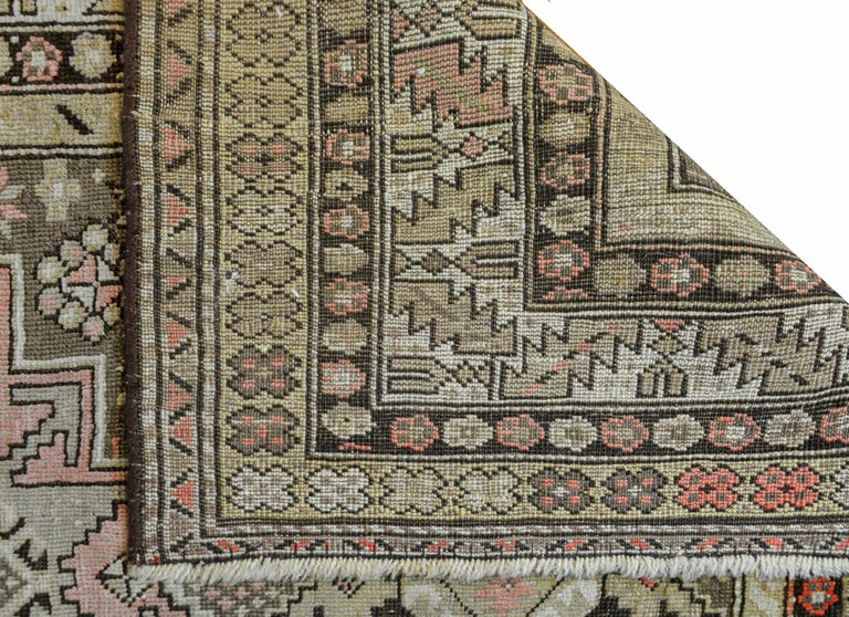 Extraordinary Early 20th Century Shirvan Rug For Sale 3