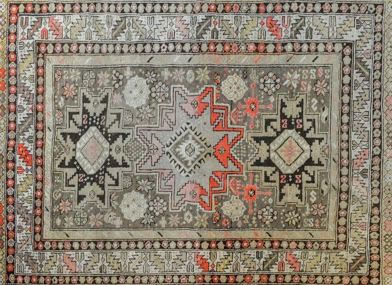 Kazak Extraordinary Early 20th Century Shirvan Rug For Sale
