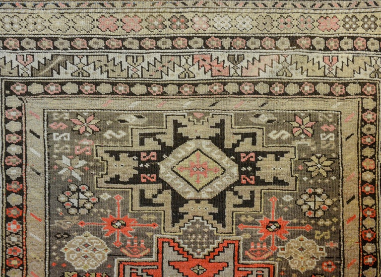 Vegetable Dyed Extraordinary Early 20th Century Shirvan Rug For Sale