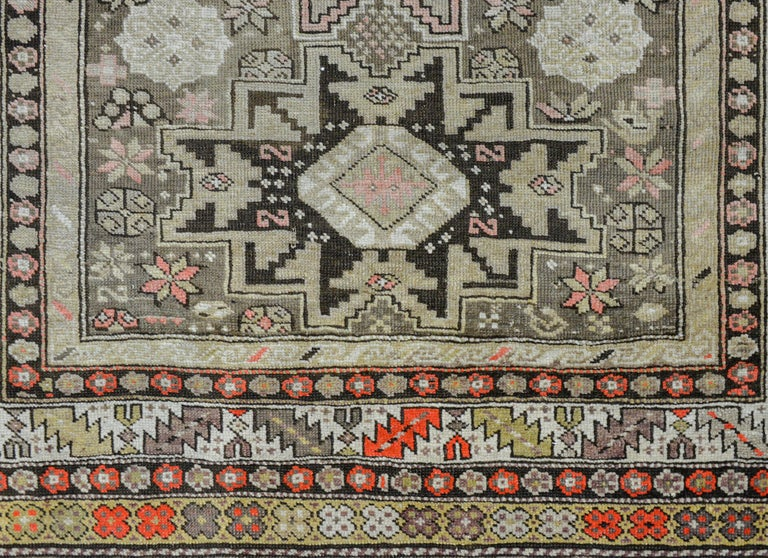 Extraordinary Early 20th Century Shirvan Rug In Good Condition For Sale In Chicago, IL