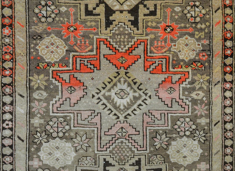 Wool Extraordinary Early 20th Century Shirvan Rug For Sale