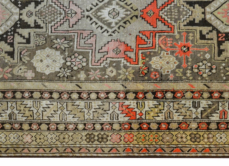 Extraordinary Early 20th Century Shirvan Rug For Sale 1