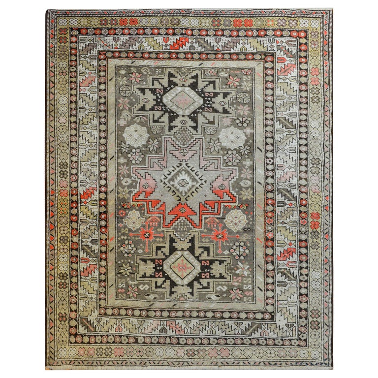 Extraordinary Early 20th Century Shirvan Rug For Sale