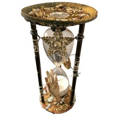 Extraordinary Hourglass Sculpture with Meticulous Artistry